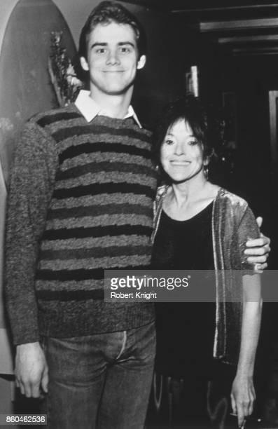 Actor Jim's Carrey Album Jim Carrey and actress Mitzi Shore