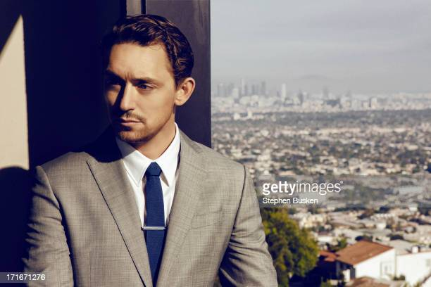 Actor JJ Feild is photographed for Self Assignment on March 29 2013 in Hollywood California