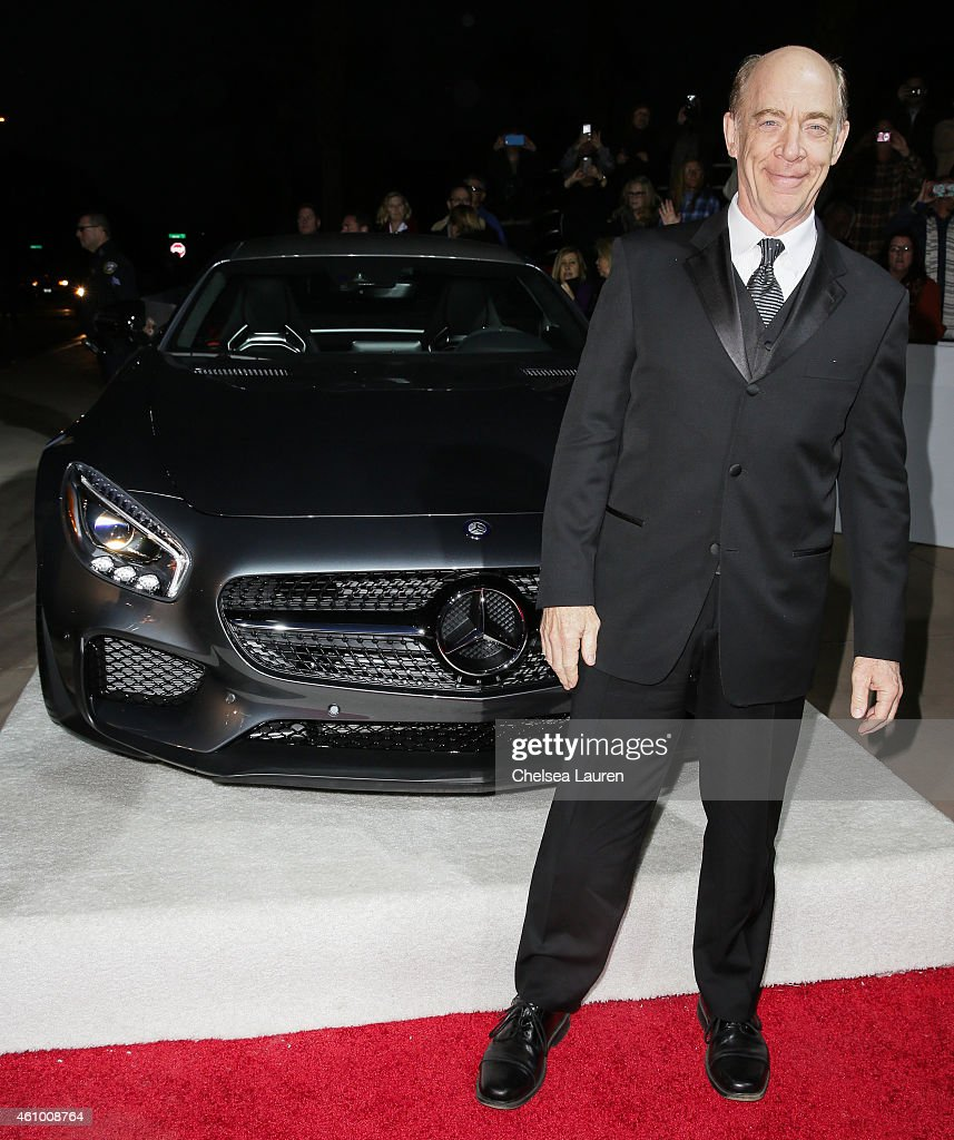 Actor J.K. Simmons arrives with Mercedes-Benz at the 26th annual Palm Springs International Film Festival Awards Gala on January 3, 2015 in Palm Springs, California.