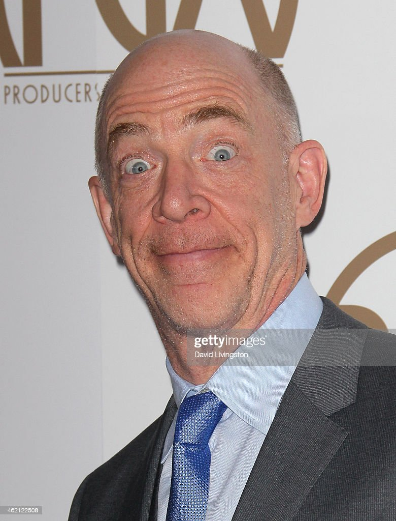 Actor J.K. Simmons attends the 26th Annual Producers Guild of America Awards at the Hyatt Regency Century Plaza on January 24, 2015 in Los Angeles, California.
