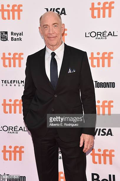 Actor JK Simmons attends the 'La La Land' Premiere during the 2016 Toronto International Film Festival at Princess of Wales Theatre on September 12...