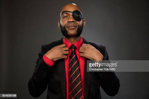 Actor JLouis Mills poses for a portrait during the NBCUniversal Press Day at The Langham Huntington Pasadena on January 13 2016 in Pasadena...