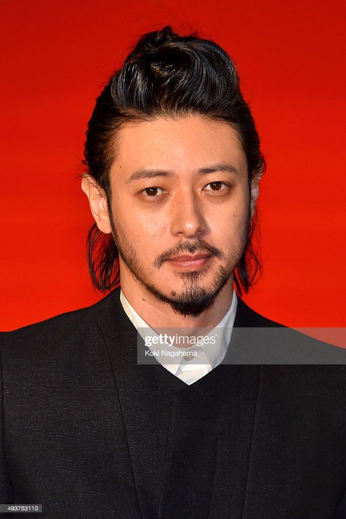 Actor Jo Odagiri attends the opening ceremony of the Tokyo International Film Festival 2015 at Roppongi Hills on October 22, 2015 in Tokyo, Japan.