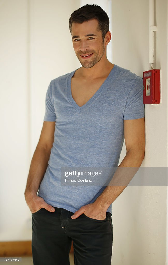 Actor Jo Weil attends the 18th anniversary celebration of the TV-show 'Verbotene Liebe' on April 22, 2013 in Hamburg, Germany.