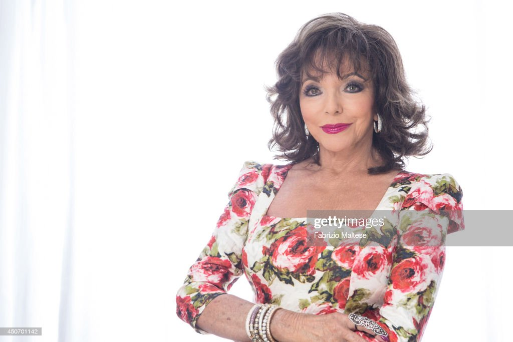 Actor <a gi-track='captionPersonalityLinkClicked' href=/galleries/search?phrase=Joan+Collins&family=editorial&specificpeople=109065 ng-click='$event.stopPropagation()'>Joan Collins</a> is photographed for Hollywood Reporter magazine in Cannes, France.