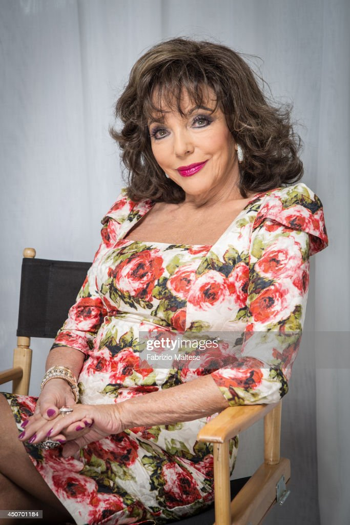Actor <a gi-track='captionPersonalityLinkClicked' href=/galleries/search?phrase=Joan+Collins&family=editorial&specificpeople=109065 ng-click='$event.stopPropagation()'>Joan Collins</a> is photographed in Cannes, France.