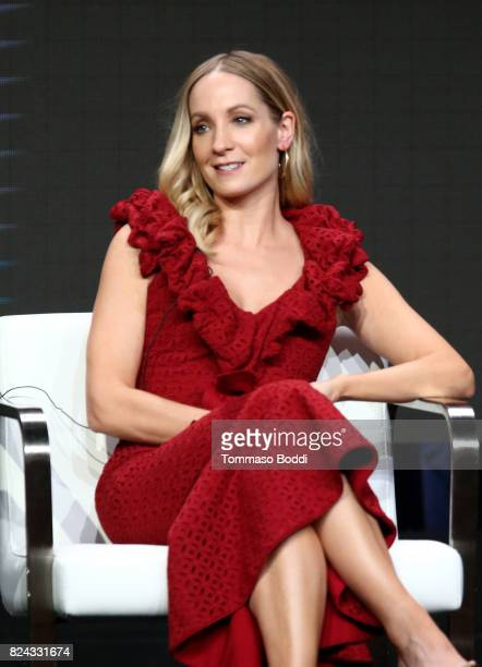Actor Joanne Froggatt of 'Liar' speaks onstage during the Sundance TV portion of the 2017 Summer Television Critics Association Press Tour at The...