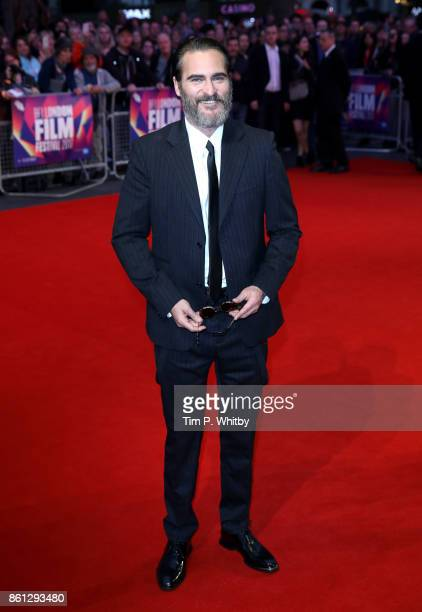 Actor Joaquin Phoenix attends the Headline Gala Screening and UK Premiere of 'You Were Never Really Here' during the 61st BFI London Film Festival at...
