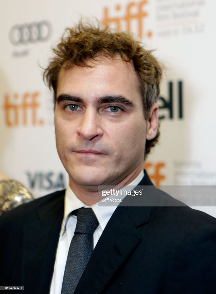 Actor Joaquin Phoenix attends 'The Master' premiere during the 2012 Toronto International Film Festival at Princess of Wales Theatre on September 7, 2012 in Toronto, Canada.