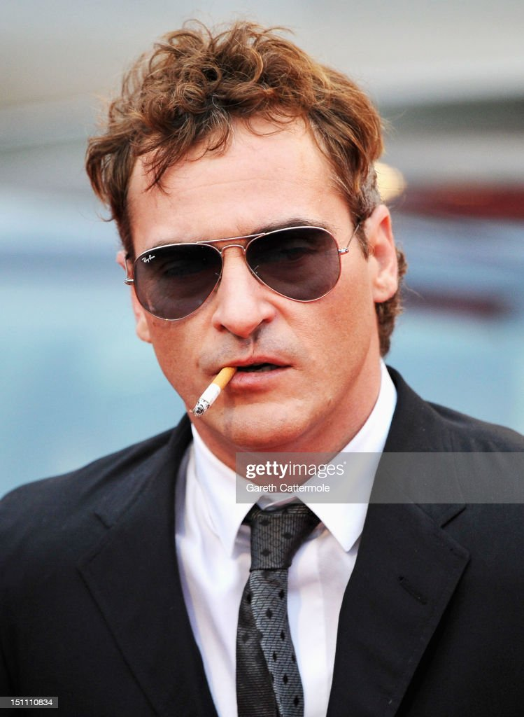 Actor <a gi-track='captionPersonalityLinkClicked' href=/galleries/search?phrase=Joaquin+Phoenix&family=editorial&specificpeople=215391 ng-click='$event.stopPropagation()'>Joaquin Phoenix</a> attends 'The Master' Premiere during The 69th Venice Film Festival at the Palazzo del Cinema on September 1, 2012 in Venice, Italy.