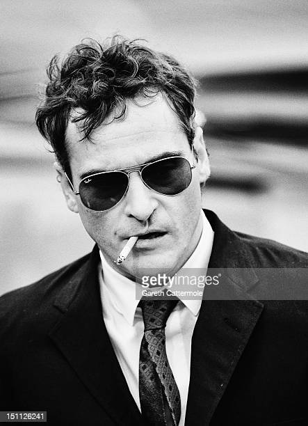 Actor Joaquin Phoenix attends 'The Master' Premiere during The 69th Venice Film Festival at the Palazzo del Cinema on September 1 2012 in Venice Italy