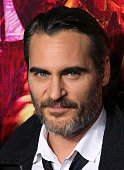 Actor Joaquin Phoenix attends the pemiere of Warner Bros Pictures' 'Inherent Vice' at the TCL Chinese Theatre on December 10 2014 in Hollywood...