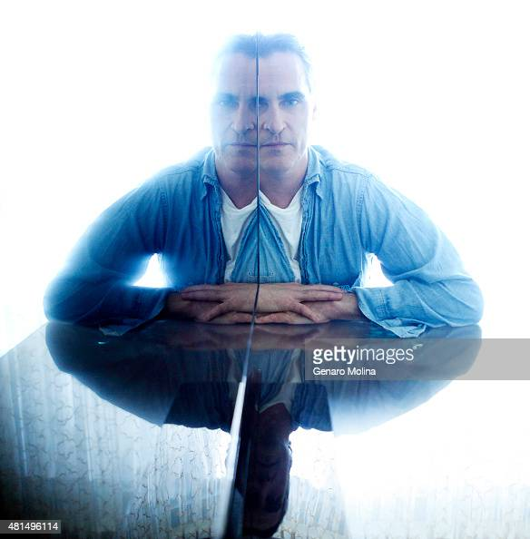 Actor Joaquin Phoenix is photographed for Los Angeles Times on July 8 2015 in Beverly Hills California PUBLISHED IMAGE CREDIT MUST READ Genaro...