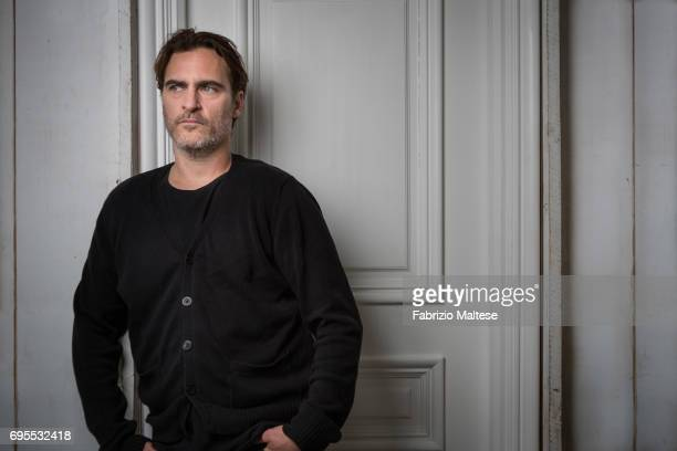 Actor Joaquin Phoenix is photographed for the Hollywood Reporter on May 26 2017 in Cannes France