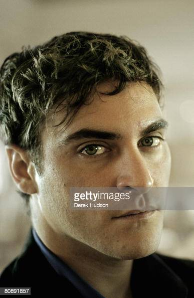 Actor Joaquin Phoenix poses for a portrait shoot at Cannes Film Festival on May 20 2000 in Cannes France