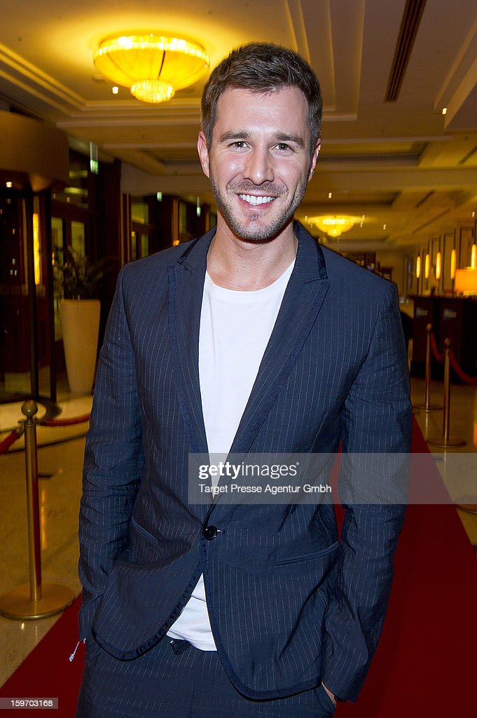 Actor Jochen Schropp attends the Fitness First New You Achievement Awardsat the Mritim Hotel on January 18, 2013 in Berlin, Germany.