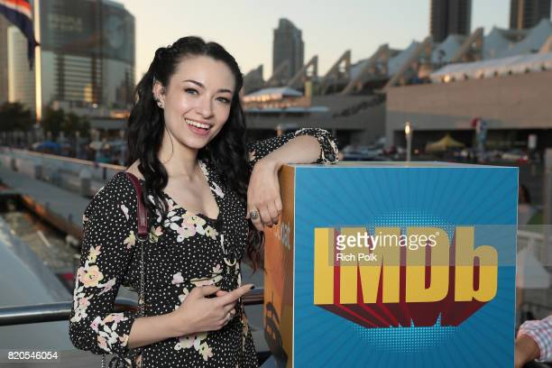 Actor Jodelle Ferland attends the #IMDboat Party at San Diego ComicCon 2017 Presented By XFINITY on The IMDb Yacht on July 21 2017 in San Diego...