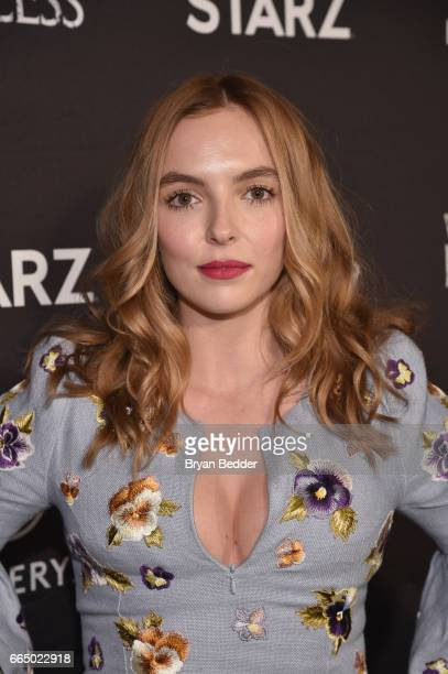 Actor Jodie Comer attends New York special screening event of STARZ 'The White Princess' hosted by STARZ Refinery29 at Metrograph on April 5 2017 in...