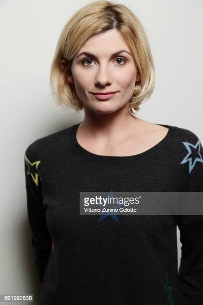 Actor Jodie Whittaker is photographed during the 61st BFI London Film Festival on October 12 2017 in London England