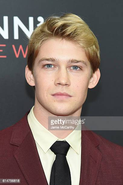 Actor Joe Alwyn attends 'Billy Lynn's Long Halftime Walk' during 54th New York Film Festival at AMC Lincoln Square Theater on October 14 2016 in New...