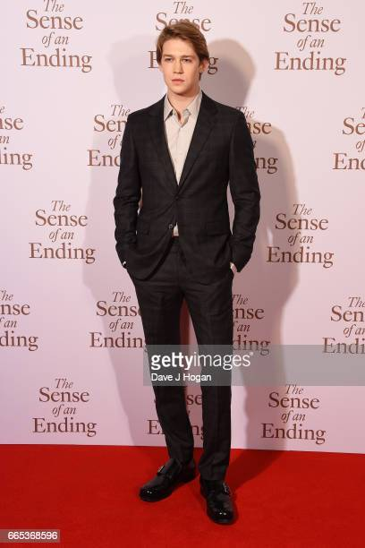 Actor Joe Alwyn attends 'The Sense of an Ending' UK gala screening on April 6 2017 in London United Kingdom
