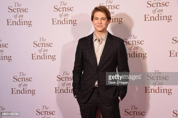 Actor Joe Alwyn attends 'The Sense of an Ending' UK gala screening on April 6 2017 in London United Kingdom