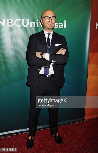 Actor Joe Bastianich attends the NBCUniversal 2015 Press Tour at the Langham Huntington Hotel on January 15 2015 in Pasadena California