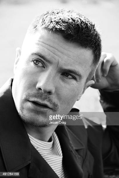 Actor Joe Dempsie is photographed for Article magazine on March 26 2014 in Colchester England