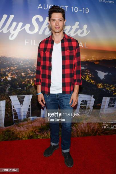 Actor Joe Dinicol attends the Primetime Short Films series during the 2017 HollyShorts Film Festival at TCL Chinese 6 Theatres on August 12 2017 in...