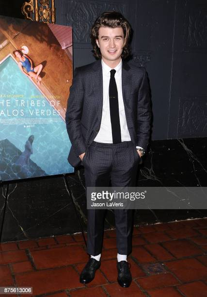 Actor Joe Keery attends the premiere of 'The Tribes of Palos Verdes' at The Theatre at Ace Hotel on November 17 2017 in Los Angeles California