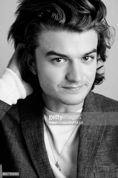 Actor Joe Keery from Netflix's 'Stranger Things' poses for a portrait BBC America BAFTA Los Angeles TV Tea Party 2017 at the The Beverly Hilton Hotel...