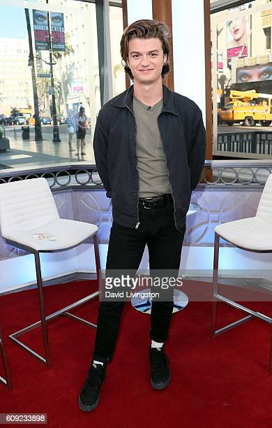 Actor Joe Keery visits Hollywood Today Live at W Hollywood on September 20 2016 in Hollywood California