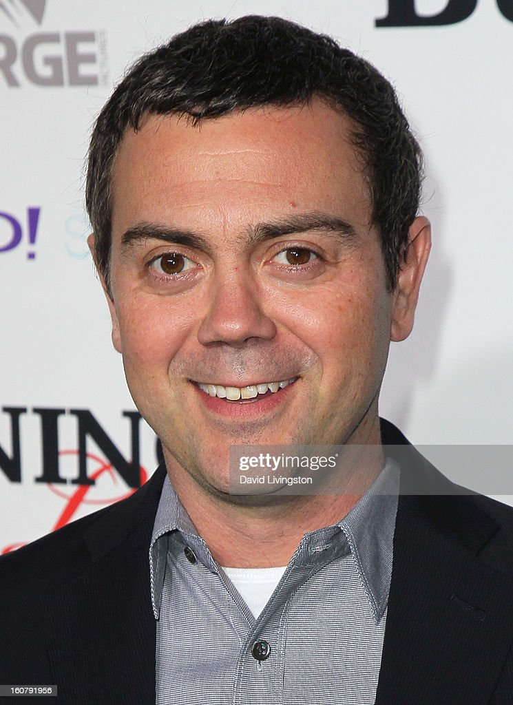 Actor <a gi-track='captionPersonalityLinkClicked' href=/galleries/search?phrase=Joe+Lo+Truglio&family=editorial&specificpeople=561393 ng-click='$event.stopPropagation()'>Joe Lo Truglio</a> attends the premiere of 'Burning Love' Season 2 at the Paramount Theater on the Paramount Studios lot on February 5, 2013 in Hollywood, California.