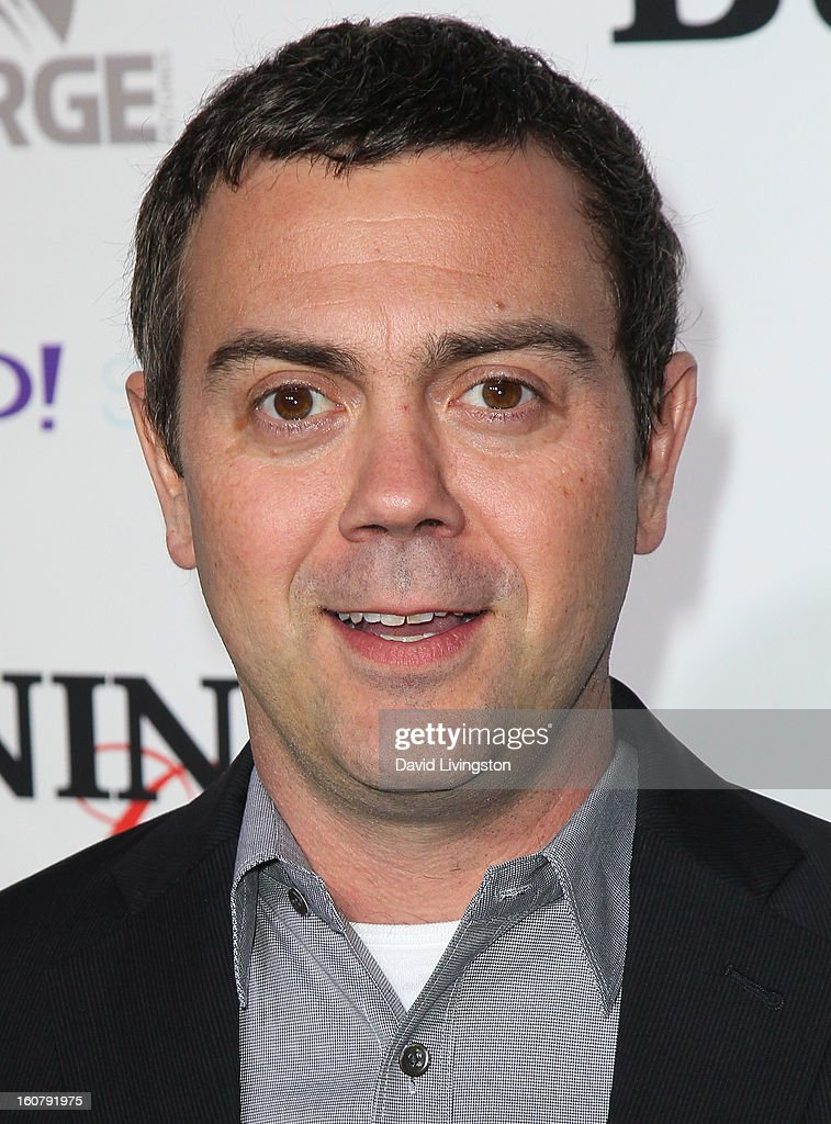 Actor Joe Lo Truglio attends the premiere of 'Burning Love' Season 2 at the Paramount Theater on the Paramount Studios lot on February 5, 2013 in Hollywood, California.