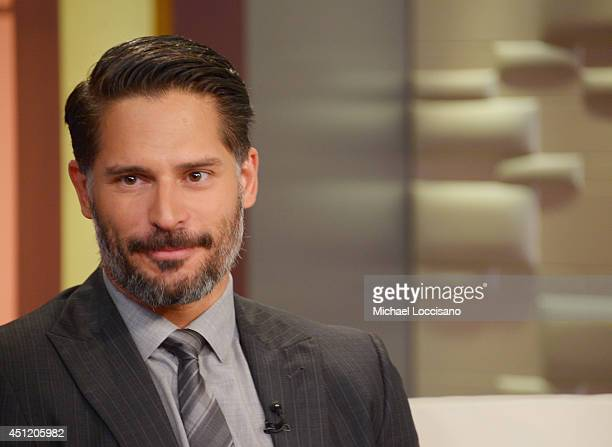 Actor Joe Manganiello appears on 'Fox And Friends' at FOX Studios on June 25 2014 in New York City