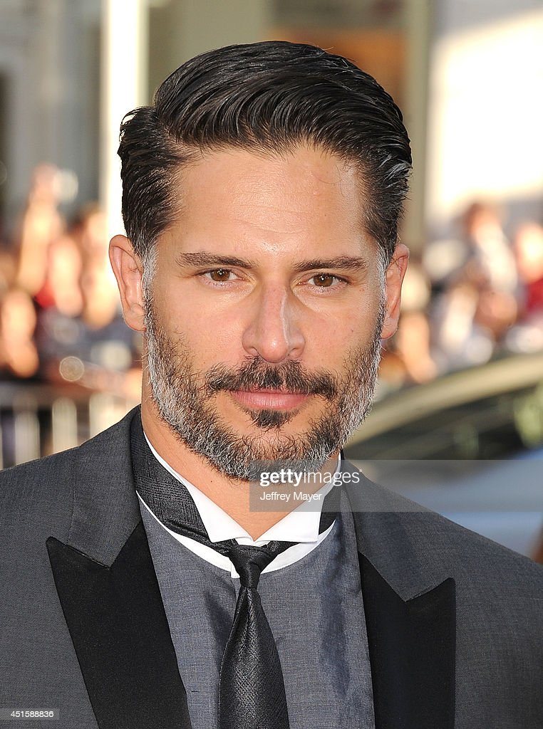 Actor <a gi-track='captionPersonalityLinkClicked' href=/galleries/search?phrase=Joe+Manganiello&family=editorial&specificpeople=2516889 ng-click='$event.stopPropagation()'>Joe Manganiello</a> arrives at HBO's 'True Blood' final season premiere at TCL Chinese Theatre on June 17, 2014 in Hollywood, California.