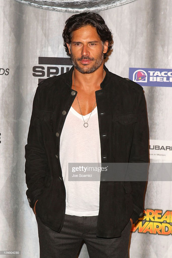 Actor <a gi-track='captionPersonalityLinkClicked' href=/galleries/search?phrase=Joe+Manganiello&family=editorial&specificpeople=2516889 ng-click='$event.stopPropagation()'>Joe Manganiello</a> arrives at Spike TV's 'SCREAM 2011' awards held at the Universal Studios Backlot on October 15, 2011 in Universal City, California.