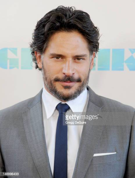 Actor Joe Manganiello arrives at the 2012 Los Angeles Film Festival closing night gala premiere of 'Magic Mike' at Regal Cinemas LA Live on June 24...