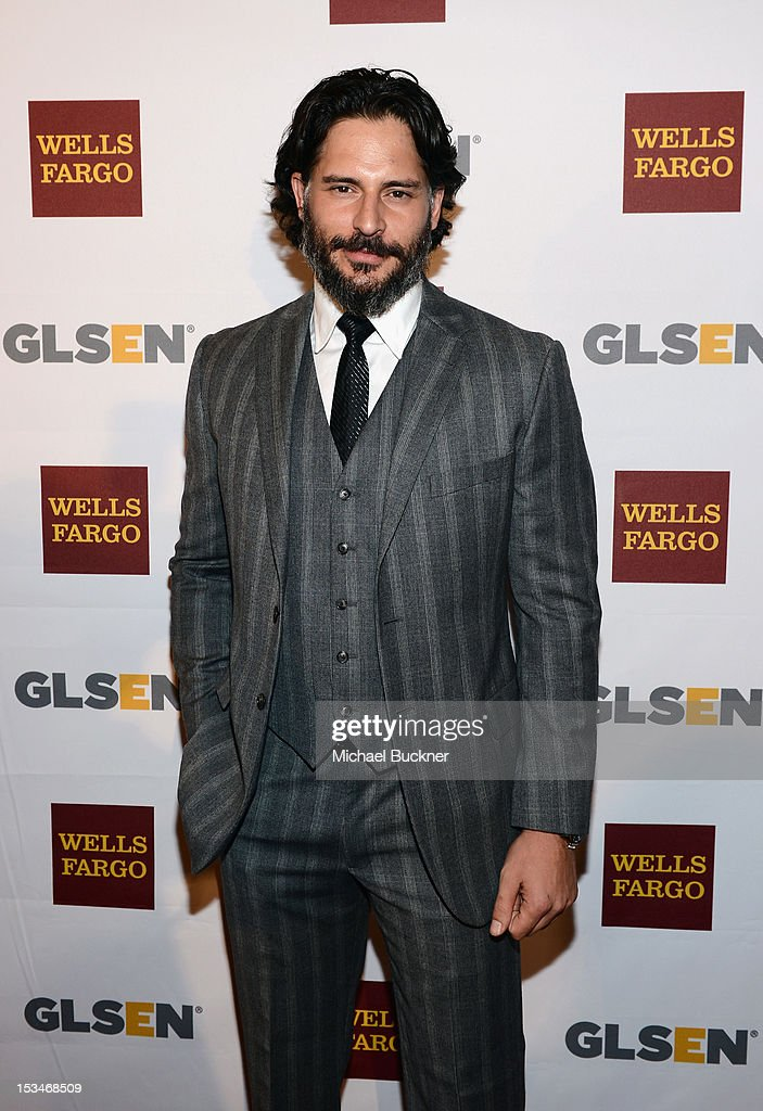 Actor <a gi-track='captionPersonalityLinkClicked' href=/galleries/search?phrase=Joe+Manganiello&family=editorial&specificpeople=2516889 ng-click='$event.stopPropagation()'>Joe Manganiello</a> arrives at the 8th Annual GLSEN Respect Awards held at Beverly Hills Hotel on October 5, 2012 in Beverly Hills, California.