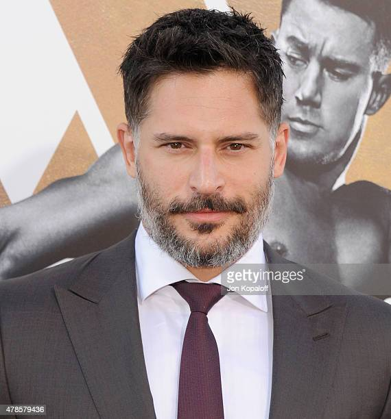 Actor Joe Manganiello arrives at the Los Angeles Premiere 'Magic Mike XXL' at TCL Chinese Theatre IMAX on June 25 2015 in Hollywood California