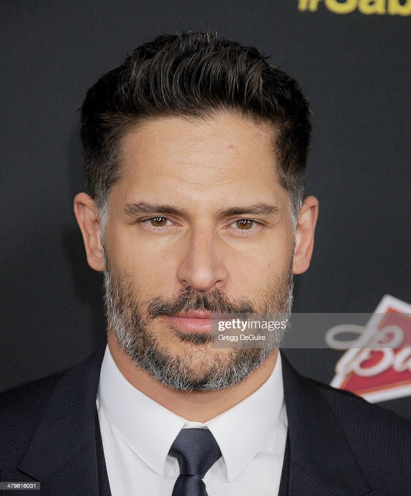 Actor <a gi-track='captionPersonalityLinkClicked' href=/galleries/search?phrase=Joe+Manganiello&family=editorial&specificpeople=2516889 ng-click='$event.stopPropagation()'>Joe Manganiello</a> arrives at the Los Angeles premiere of 'Sabotage' at Regal Cinemas L.A. Live on March 19, 2014 in Los Angeles, California.