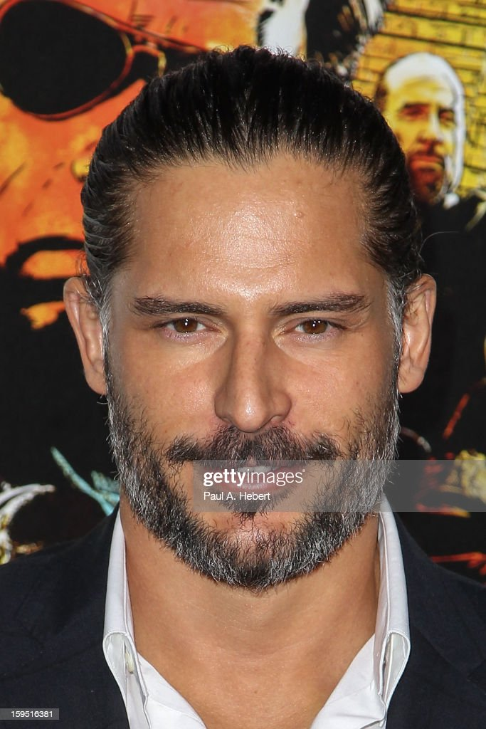 Actor Joe Manganiello arrives at the premiere of Lionsgate Films' 'The Last Stand' held at Grauman's Chinese Theatre on January 14, 2013 in Hollywood, California.