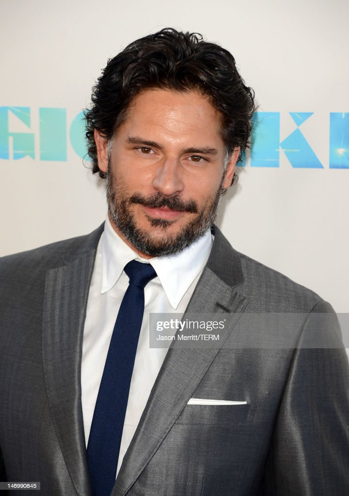 Actor <a gi-track='captionPersonalityLinkClicked' href=/galleries/search?phrase=Joe+Manganiello&family=editorial&specificpeople=2516889 ng-click='$event.stopPropagation()'>Joe Manganiello</a> arrives at the premiere of Warner Bros. Pictures' 'Magic Mike' during the 2012 Los Angeles Film Festival at Regal Cinemas L.A. Live on June 24, 2012 in Los Angeles, California.