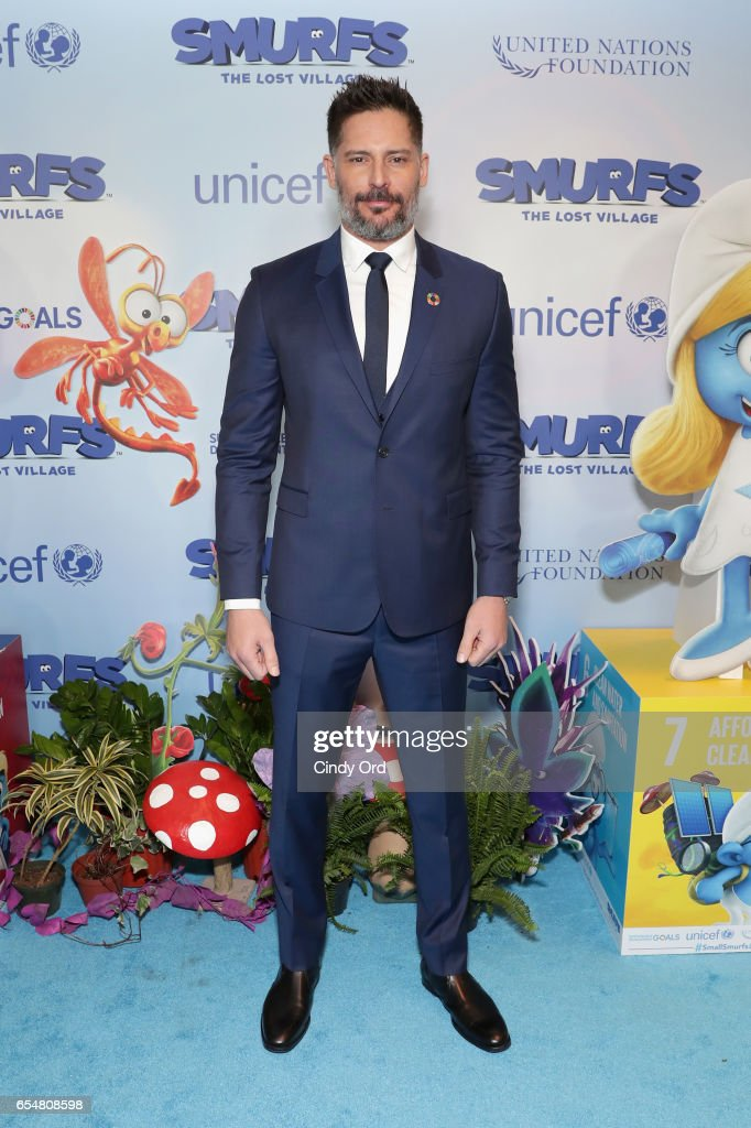 Actor Joe Manganiello at the United Nations Headquarters celebrating International Day of Happiness in conjunction with