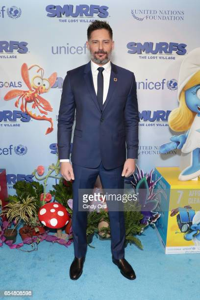 Actor Joe Manganiello at the United Nations Headquarters celebrating International Day of Happiness in conjunction with SMURFS THE LOST VILLAGE on...