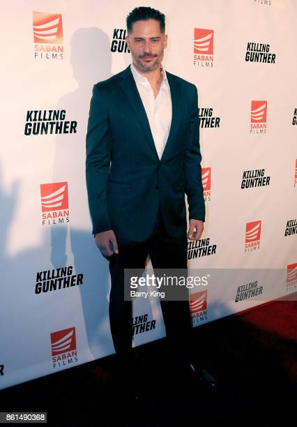 Actor Joe Manganiello attend the premiere of Saban Films' 'Killing Gunther' at TCL Chinese Theatre on October 14 2017 in Hollywood California