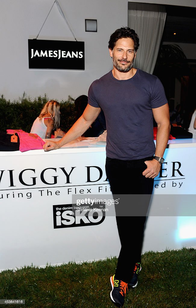 Actor <a gi-track='captionPersonalityLinkClicked' href=/galleries/search?phrase=Joe+Manganiello&family=editorial&specificpeople=2516889 ng-click='$event.stopPropagation()'>Joe Manganiello</a> attends a dance party with New Balance and James Jeans powered by ISKO at the home of Pascal Mouawad on August 19, 2014 in Bel Air, California.