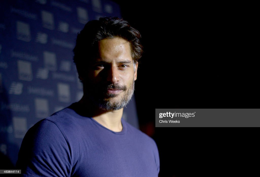 Actor <a gi-track='captionPersonalityLinkClicked' href=/galleries/search?phrase=Joe+Manganiello&family=editorial&specificpeople=2516889 ng-click='$event.stopPropagation()'>Joe Manganiello</a> attends a dance party with New Balance and James Jeans powered by ISKO at the home of Pascal Mouwad on August 19, 2014 in Bel Air, California.