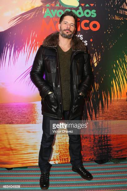 Actor Joe Manganiello attends Avocados From Mexico Film Festival Suite on January 17 2014 in Park City Utah