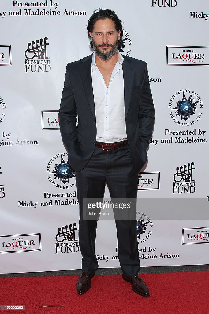Actor <a gi-track='captionPersonalityLinkClicked' href=/galleries/search?phrase=Joe+Manganiello&family=editorial&specificpeople=2516889 ng-click='$event.stopPropagation()'>Joe Manganiello</a> attends Destination Fashion 2012 To Benefit The Buoniconti Fund To Cure Paralysis, the fundraising arm of The Miami Project to Cure Paralysis, on November 10, 2012 in Miami, Florida.